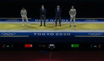 Ολυμπιακοί Αγώνες-Ξιφασκία: Ηττα και αποκλεισμός για τη Δώρα Γκουντούρα (VIDEO)