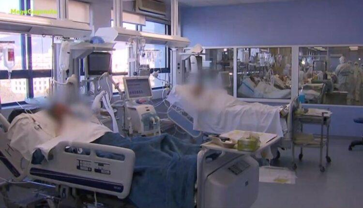 Μετάλλαξη Δέλτα: Κατακόρυφη αύξηση των νοσηλειών -Το 96% όσων νοσηλεύονται είναι ανεμβολίαστοι (VIDEO)