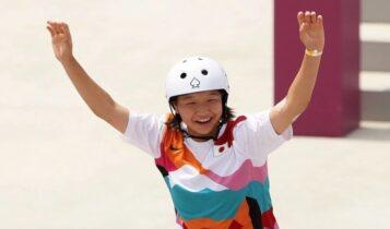 Ολυμπιακοί Αγώνες: Ιστορικό χρυσό από την 13χρονη Νισίγια στο σκέιτμπορντ (VIDEO)