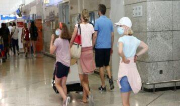 Αεροπορική οδηγία: Και με self test τα παιδιά 12-17 ετών στα νησιά