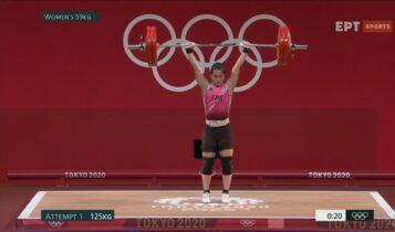 Ολυμπιακοί Αγώνες-Αρση Βαρών: Εσπασε όλα τα ρεκόρ η Κουό και κατέκτησε το χρυσό (VIDEO)