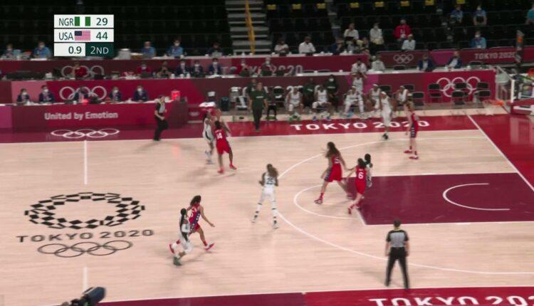 Ολυμπιακοί Αγώνες: Φοβερό buzzer beater της Ελόνου κόντρα στις ΗΠΑ (VIDEO)