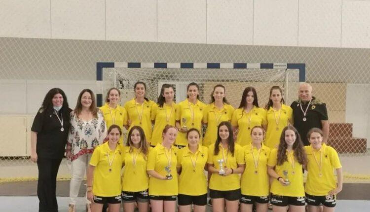 ΑΕΚ: Νέα ηλικιακά τμήματα στις ακαδημίες χάντμπολ κοριτσιών