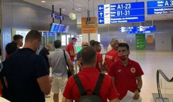 Βελέζ: «Πάτησε» Αθήνα για τη ρεβάνς με την ΑΕΚ (ΦΩΤΟ)