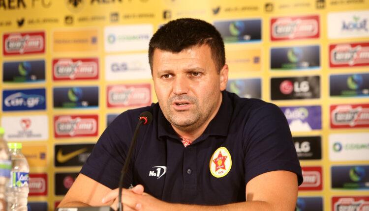 Ντούντιτς: «Να μην δεχθούμε γκολ στο πρώτο 20λεπτο και να εκμεταλλευτούμε την αργή άμυνα της ΑΕΚ»