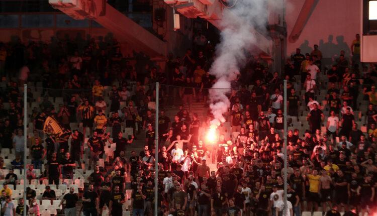 Εικόνες από το ΑΕΚ-Βελέζ