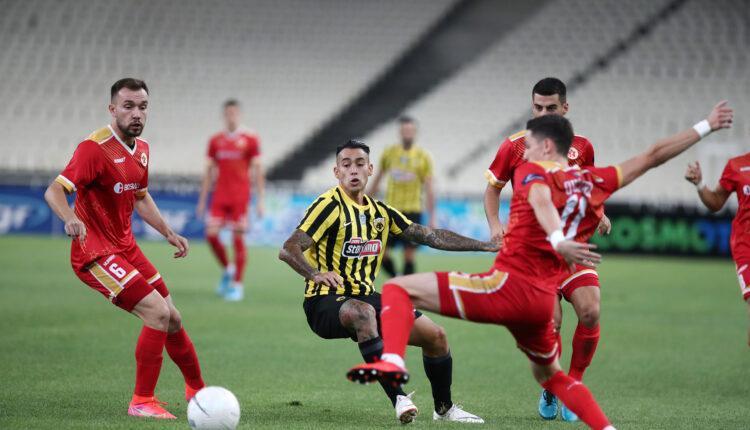 ΑΕΚ-Βελέζ 2-3 (ΤΕΛΙΚΟ)