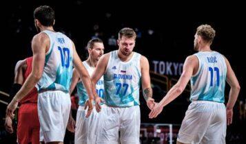 Ολυμπιακοί Αγώνες: Ανετη νίκη για τη Σλοβενία, 116-81 την Ιαπωνία
