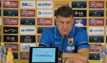 ΑΕΚ: LIVE η συνέντευξη Τύπου μετά το ματς με την Βελέζ (VIDEO)