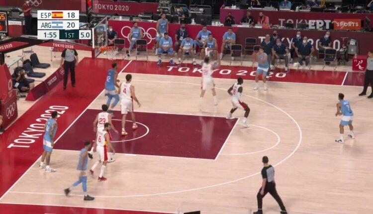 Ολυμπιακοί Αγώνες: Τα στιγμιότυπα από τη νίκη της Ισπανίας (81-71) επί της Αργεντινής (VIDEO)