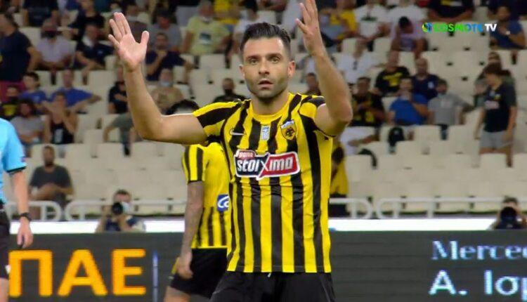 ΑΕΚ-Βελέζ: Το ακυρωθέν γκολ του Τζαβέλλα (VIDEO)