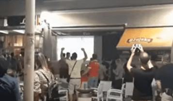 Χαμός στο Μόσταρ για την πρόκριση της Βελέζ επί της ΑΕΚ (VIDEO)