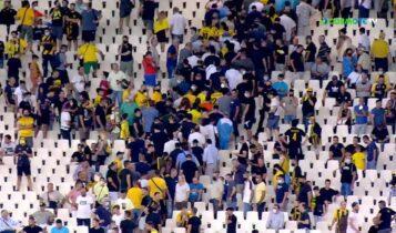 ΑΕΚ: Η μαζική αποχώρηση οπαδών μετά τον αποκλεισμό (VIDEO)