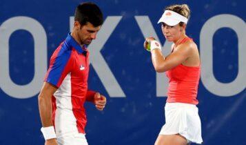 Ολυμπιακοί Αγώνες: Αποσύρθηκε από το μικρό τελικό του διπλού μεικτού στο τένις η Σερβία