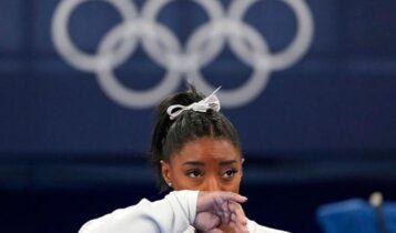 Ολυμπιακοί Αγώνες: Αποσύρθηκε και από τον τελικό των ασκήσεων εδάφους η Μπάιλς