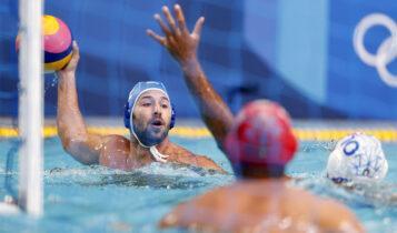 Ολυμπιακοί Αγώνες: Η Ελλάδα την 2η καλύτερη άμυνα στο πόλο