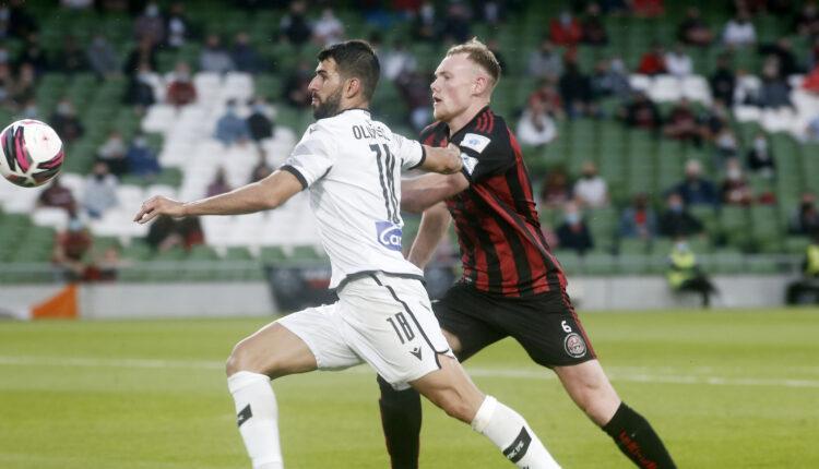Μποέμιανς-ΠΑΟΚ: Γκολ ξανά ο Ολιβέιρα, μείωσε σε 2-1 (VIDEO)