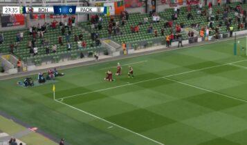 Μποέμιανς-ΠΑΟΚ: Εκαναν το 1-0 νωρίς οι Ιρλανδοί! (VIDEO)