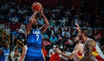 Ολυμπιακοί Αγώνες: Προκρίθηκαν οι ΗΠΑ (95-81) απέναντι στην Ισπανία (VIDEO)