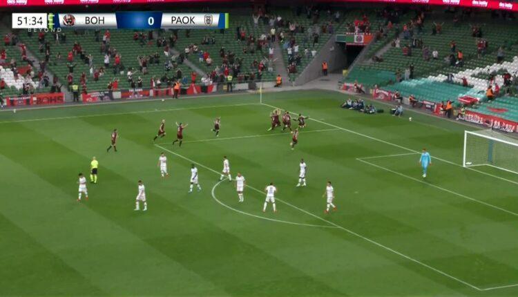 Μποέμιανς-ΠΑΟΚ: Ο Πασχαλάκης «έπνιξε» το 2-0! (VIDEO)