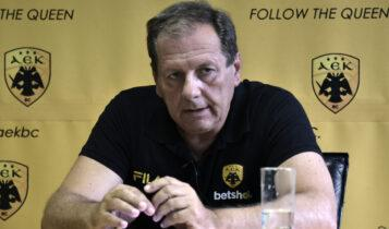 Αγγελόπουλος από καρδιάς: «Πλάνο για να φτάσει η ΑΕΚ στην κορυφή της Ευρώπης, έχω βάλει 16 εκατ.ευρώ» (VIDEO)