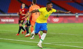 Ολυμπιακοί Αγώνες: Χρυσή ξανά η Βραζιλία, νίκησε 2-1 την Ισπανία στη παράταση (VIDEO)