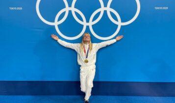 Ελληνοαμερικανή Ολυμπιονίκης αφιερώνει το χρυσό στην Ελλάδα