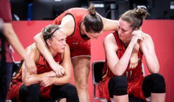 Σκάνδαλο κατά την υποδοχή της Εθνικής Μπάσκετ Γυναικών του Βελγίου! (VIDEO)
