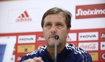 Μαρτίνς: «Η ομάδα δεν θα επηρεαστεί ψυχικά, είμαστε απόλυτα προετοιμασμένοι»