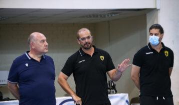 Δημητρούλιας στο enwsi.gr: «Να διατηρήσουμε την ΑΕΚ στην κορυφή-Τεράστια πρόκληση το EHF European League