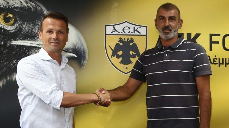 Οφρυδόπουλος: «Είμαι ενθουσιασμένος που είμαι στην ΑΕΚ -Κόσμημα το γήπεδο στα Σπάτα»