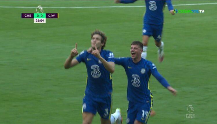 Με γκολάρα του Μάρκος Αλόνσο, 1-0 η Τσέλσι την Κρίσταλ Πάλας (VIDEO)