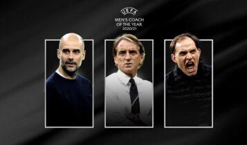 UEFA: Οι υποψήφιοι για προπονητές της χρονιάς