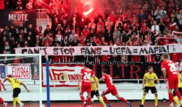 Το ηχηρό μήνυμα των οπαδών της Ουνιόν Βερολίνου στην UEFA!