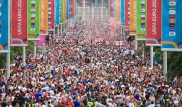 «Υγειονομική βόμβα το Euro»: Σχεδόν 10 χιλ. κρούσματα από τη διοργάνωση στην Αγγλία!
