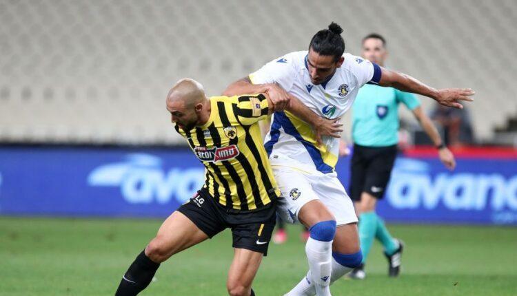ΑΕΚ-Αστέρας Τρίπολης 0-1: Γκολ και φάσεις (VIDEO)