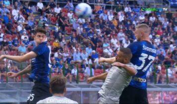 Ιντερ-Τζένοα: Γρήγορα το 2-0 με Σκρίνιαρ και Τσαλχάνογλου (VIDEO)