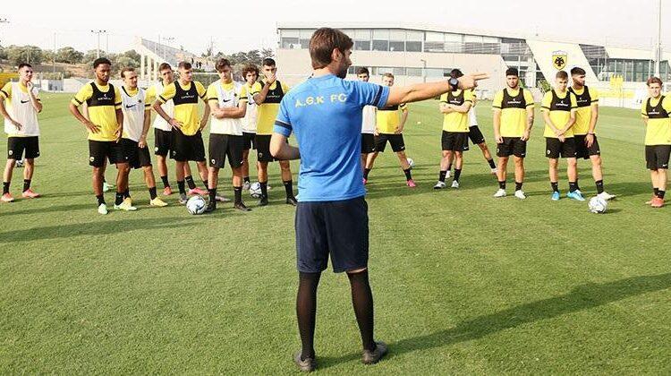 AEK Β': Αναχωρεί με 24 παίκτες για Πορταριά