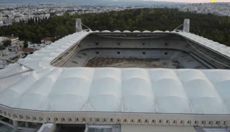 «OPAP Arena»: Νέα πλάνα από τα έργα και από drone από το νέο γήπεδο της ΑΕΚ! (VIDEO)