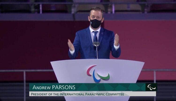 Παραολυμπιακοί Αγώνες: «Η συγκλονιστική ομιλία του Άντριου Πάρσονς στην τελετή έναρξης» (VIDEO)