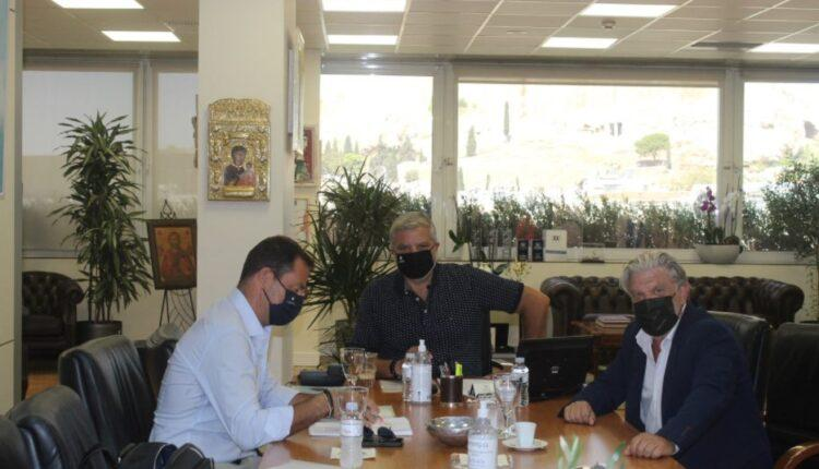 ΑΕΚ: Συνάντηση Πατούλη-Βούρου για τα έργα στη Νέα Φιλαδέλφεια-«Προχωράμε γρήγορα και αποτελεσματικά»