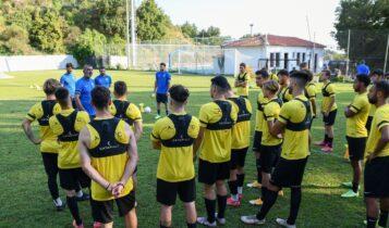 Πρώτο φιλικό αύριο για την ΑΕΚ Β' κόντρα στη Ρόδο