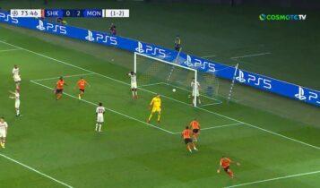 Σαχτάρ-Μονακό: Ο Μάρλος μείωσε σε 1-2 (VIDEO)