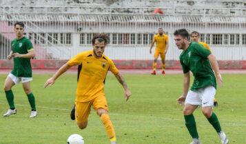 Ηττα για την ΑΕΚ Β' με 1-0 από την Ρόδο στο πρώτο της φιλικό
