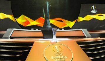 Europa League: Αυτοί είναι οι όμιλοι -Με Αϊντραχτ και Φενέρμπαχτσε ο Ολυμπιακός