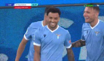 Serie A: «Εξάρα» η Λάτσιο στη Σπέτσια του Βέρντε, γκέλαρε η Αταλάντα (VIDEO)