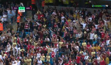Μάντσεστερ Σίτι-Αρσεναλ: Ο Ρόδρι το 4-0 -Πανηγύριζαν ειρωνικά οι οπαδοί των Λονδρέζων (VIDEO)