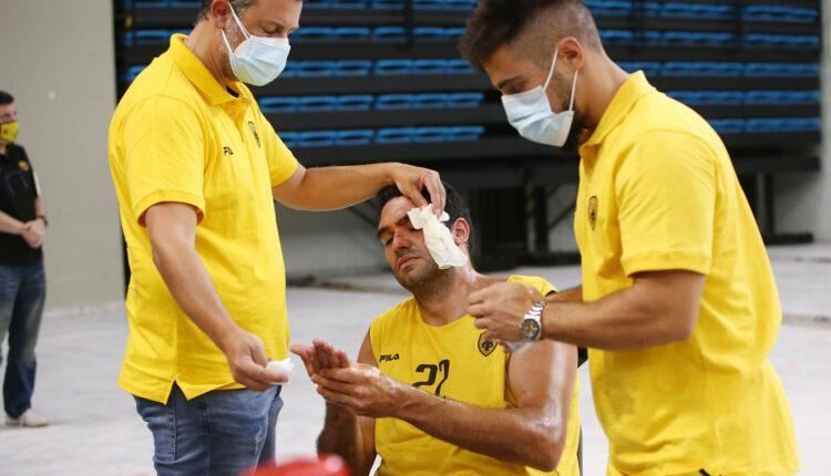 ΑΕΚ: Τραυματίστηκε ο Δημήτρης Μαυροειδής (ΦΩΤΟ)