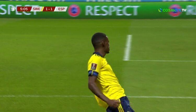 Σουηδία-Ισπανία: Σολέρ και Ισακ το 1-1 από το 6' (VIDEO)