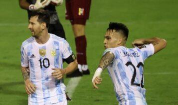 Προκριματικά Μουντιάλ: Εύκολη νίκη για Αργεντινή, «απόλυτη» η Βραζιλία